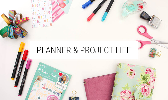 Planner und Project Life